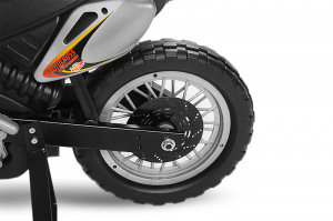 Motocicleta electrica pentru copii BJ014 45W 6V STANDARD #Verde [3]