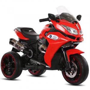 Motocicleta electrica pentru copii BJ1200 2x30W STANDARD #Rosu [0]