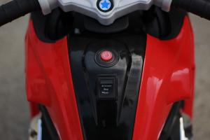 Motocicleta electrica pentru copii BJ1200 2x30W STANDARD #Rosu [9]