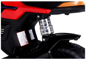 Motocicleta electrica pentru copii BJT5158 45W 6V STANDARD #Rosu7