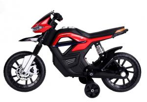 Motocicleta electrica pentru copii BJT5158 45W 6V STANDARD #Rosu2