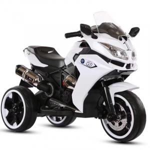 Motocicleta electrica pentru copii BJ1200 2x30W STANDARD #Alb0