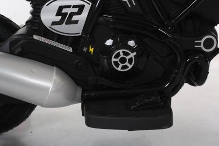 Motocicleta electrica pentru copii BT307 60W CU ROTI Gonflabile #Rosu5