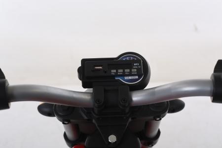 Motocicleta electrica pentru copii BT307 60W CU ROTI Gonflabile #Verde4
