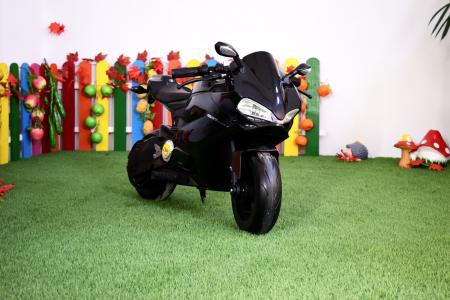 Motocicleta electrica copii 3-9 ani, SX1629, neagra [9]