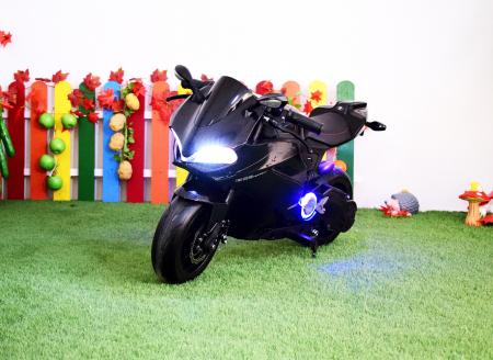 Motocicleta electrica copii 3-9 ani, SX1629, neagra [1]