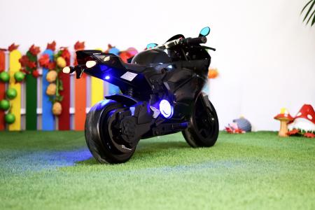 Motocicleta electrica copii 3-9 ani, SX1629, neagra [7]