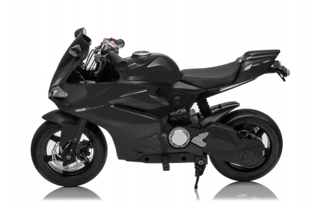 Motocicleta electrica copii 3-9 ani, SX1629, neagra [11]
