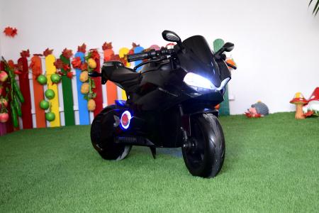 Motocicleta electrica copii 3-9 ani, SX1629, neagra [10]