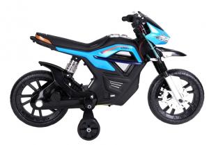 Motocicleta electrica pentru copii BJT5158 45W 6V STANDARD #Albastru2