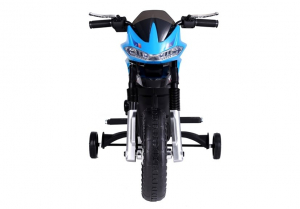 Motocicleta electrica pentru copii BJT5158 45W 6V STANDARD #Albastru6