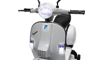 Scuter electric pentru copii Piaggio PX150 PREMIUM #Alb6
