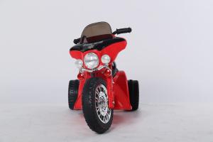 Motocicleta electrica pentru copii, POLICE JT568 35W STANDARD #Rosu1