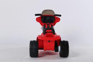 Motocicleta electrica pentru copii, POLICE JT568 35W STANDARD #Rosu5