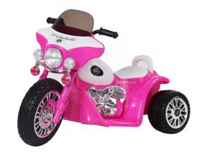Motocicleta electrica pentru copii, POLICE JT568 35W STANDARD #Roz0