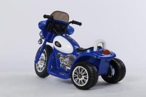 Motocicleta electrica pentru copii, POLICE JT568 35W STANDARD #Albastru3