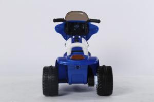 Motocicleta electrica pentru copii, POLICE JT568 35W STANDARD #Albastru4