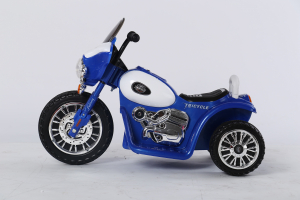 Motocicleta electrica pentru copii, POLICE JT568 35W STANDARD #Albastru2