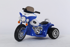 Motocicleta electrica pentru copii, POLICE JT568 35W STANDARD #Albastru11