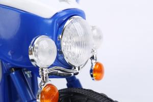 Motocicleta electrica pentru copii, POLICE JT568 35W STANDARD #Albastru10