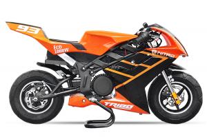 Motocicleta electrica Pocket Bike NITRO Eco TRIBO 1060W 36V #Orange0