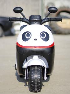 Tricicleta electrica pentru copii Panda 20W 6V #Alb5