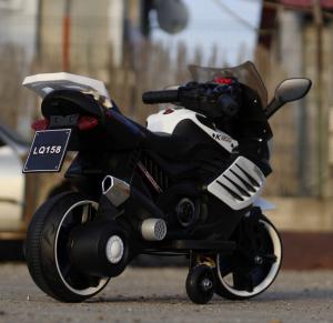 Motocicleta electrica pentru copii LQ158 20W STANDARD #Alb3