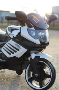 Motocicleta electrica pentru copii LQ158 20W STANDARD #Alb7