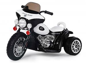 Motocicleta electrica pentru copii, POLICE JT568 25W STANDARD #Alb0
