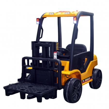 Motostivuitor electric pentru copii BJD08 90W 12V DELUXE #Galben [0]