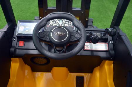 Motostivuitor electric pentru copii BJD08 90W 12V DELUXE #Galben [12]