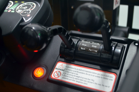 Motostivuitor electric pentru copii BJD08 90W 12V DELUXE #Galben [7]
