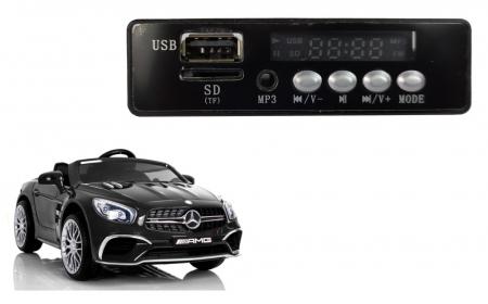 Music Player Mp3 pentru masinuta electrica Mercedes SL65 [0]