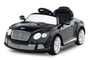 Masinuta electrica Bentley Continental GTC STANDARD 12V #Negru0