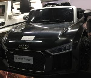 Masinuta electrica Audi R8 Spyder 2x35W 12V PREMIUM #Negru2