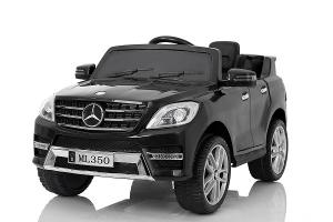 Masinuta electrica Mercedes ML350 2x25W STANDARD 12V #Negru0