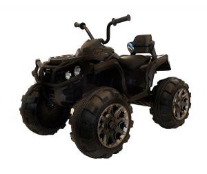 Mini ATV electric Quad Offroad cu Telecomanda STANDARD #Negru0