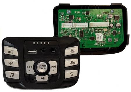 Panou de comanda cu Mp3 pentru UTV S2588 Golf-Kart [0]