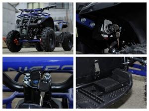 Mini ATV electric NITRO Torino Deluxe Quad 800W 36V #Albastru [8]