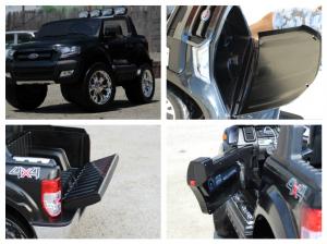 Masinuta electrica Ford Ranger 4x4 cu ROTI MOI 4x45W #Negru6