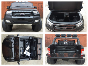 Masinuta electrica Ford Ranger WildTrak STANDARD 2x 35W 12V #Negru6