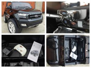 Masinuta electrica Ford Ranger WildTrak STANDARD 2x 35W 12V #Negru7