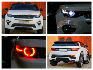 Kinderauto Land Rover Discovery DELUXE cu Touchscreen Mp4 #ALB7