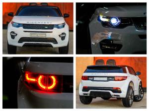Masinuta electrica Land Rover Discovery DELUXE cu Touchscreen Mp4 #ALB7