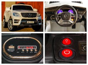 Masinuta electrica Mercedes ML350 2x25W STANDARD 12V # ALB7