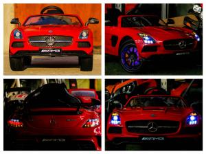 Kinderauto Mercedes SLS AMG PREMIUM #Rosu6