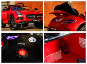 Masinuta electrica Mercedes SLS AMG PREMIUM #Rosu8