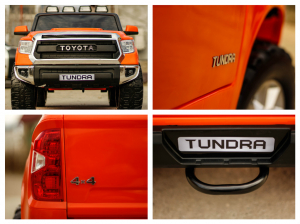 Masinuta electrica Toyota Tundra 2x45W PREMIUM #Portocaliu5