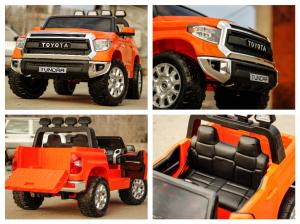Masinuta electrica Toyota Tundra 2x45W PREMIUM #Portocaliu7