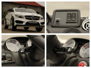 Masinuta electrica Mercedes CLA45 STANDARD 2x 25W 12V #ALB7